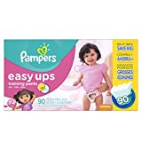 Pampers Easy Ups Girls Size 3T4T Value P...