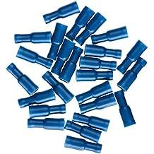 10 Stück Rundstecker Rundsteckhülse blau  1,5-2,5 mm²