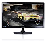 Samsung S24D330HSX Monitor per PC Desktop 24'' Full HD TN CTN, 1920 x 1080, 1 ms, 60 Hz, D-sub, HDMI, Nero [Versione Internazionale]