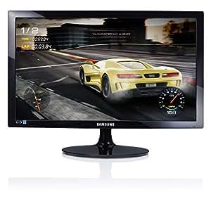 Samsung - S24D330H - Moniteur Gaming - Dalle TN - 24 Pouces – Résolution Full HD (1920 x 1080), 1ms (GTG), 16:9, Design Noir brillant