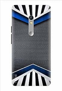 Noise Designer Printed Case / Cover for Motorola Moto X Play / Patterns & Ethnic / Grey Aisle Design