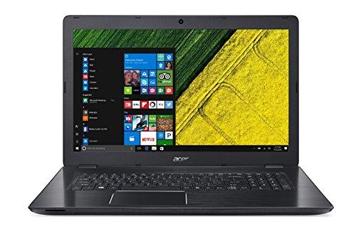 Acer Aspire F17(F5-771G-58P2) Laptop with Matte 17.3-Inch Full-HD Display, Intel Core i5-7200U, 8GB RAM, 1000GB HDD, 128GB SSD, GeForce GTX 950M, HDMI, USB 3.0, Windows 10,Black black black