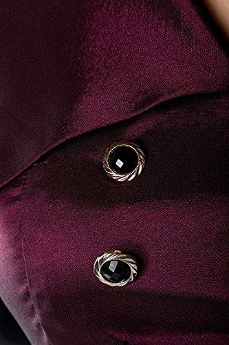 Maritimes 50er Jahre Rockabilly Captain Kleid mit Gürtel C370603, Größe:42;Farbe:lila -