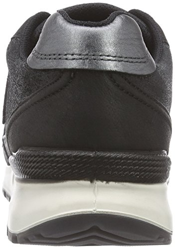 Damen 59532 DARKSHA Schwarz Sneakers BLACK BLACK Ecco MET CS14 BLACK Tx0zw5