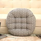 Tatami coussins de bureau plus épais futon matelas à plancher respirant baie vitrée-B 40x40cm(16x16inch)
