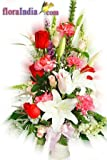 FloraIndia Fresh Flower Bouquet (Bunch of 20)
