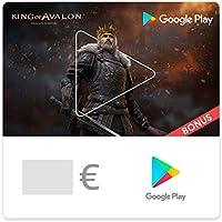 Google Play-Gutscheincode - für Deutschland - per E-Mail. Sichern Sie sich einen Bonus im Wert von bis zu 75 € in King of Avalon (nur Deutschland)