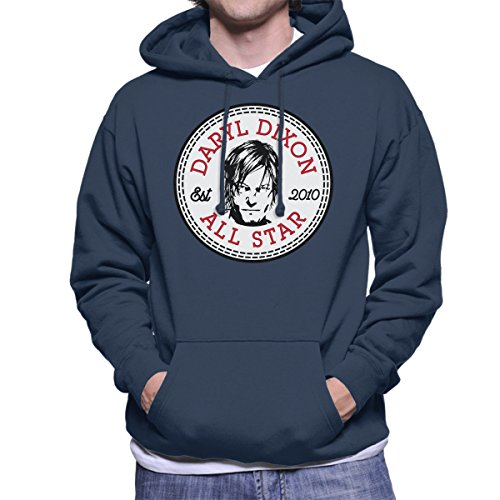 Converse Daryl Dixon All Star Men's Hooded Sweatshirt All-star-pullover