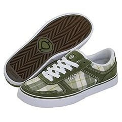 Circa Skateboard Women Schuhe 4 Track Avocado / Green Originals Plaid - C1rca Shoes, Schuhgrösse:35.5 (Schuhe Lakai Womens)