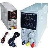 DOBO® Alimentatore Stabilizzato da banco compatto Slim Trasformatore corrente professionale regolabile fino a 30V e 10A - Versione MINI fino a 10A