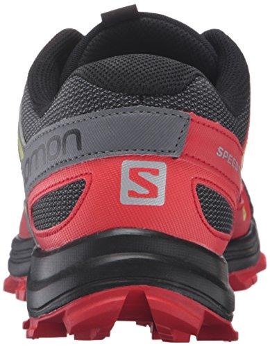 Salomon L39062400, Sneakers trail-running homme Noir