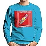Back To The Future Hoverboard Break In 2015 Men's Sweatshirt