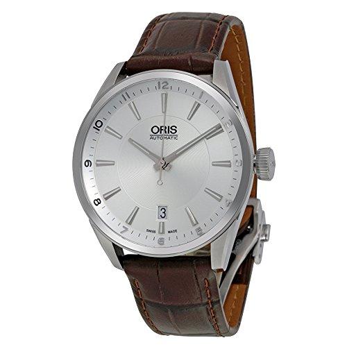 Oris Artix 733-7713-4031LS automatico da orologio da uomo in pelle, colore: marrone