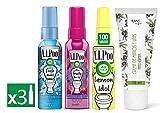 Air Wick VIPoo Spray per il fresco WC, frutti della foresta e limone 3 unità 165 ml + Alkimist Professional crema mani e unghie 75 ml