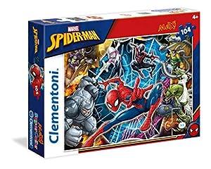 Clementoni 23716Spiderman-Máxima de Puzzle, 104Piezas