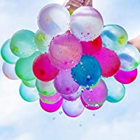 WXCL 111 Palloncini magici riempiti Palloncini d'acqua Guerra per Bambini Acqua Forniture di gioco Bambini Estate Spiaggia all'aperto Giocattolo Festa, 111 pezzi (3 mazzi)