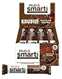 PhD Smart Bar High Protein Low Carb Bar Chocolate Brownie, 64 g, Pack of 12