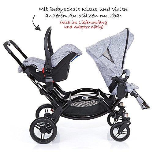 ABC Design Zoom – Zwillings- und Geschwisterkinderwagen - 9