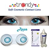 Trendy Aqua Monthly Contact Lens
