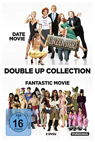 Double Up Collection: Date Movie / Fantastic Movie [2 DVDs]