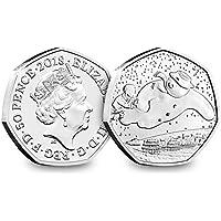 Change Checker 2018 UK The Snowman CERTIFIED BU 50p