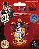 Harry Potter Gryffindor Set of 5 Vinyl Stickers