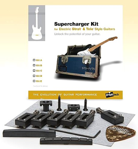 Graph Tech Supercharger Kit for Strat Import