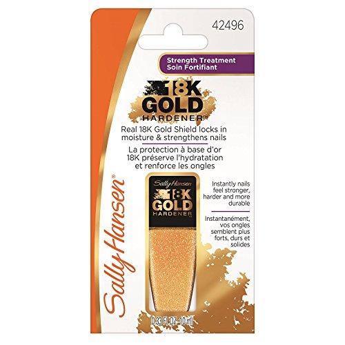 18K Gold Nagelhärter, Pflegebehandlung, Sally Hansen, 10ml -