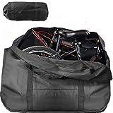 Wuudi - Bolsa de Transporte para Bicicleta Plegable Dick, Impermeable, Bolsa de Viaje para Transporte, Viajes en avión, 14 Pulgadas hasta 20 Pulgadas