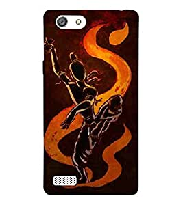 For Oppo Neo 7 :: Oppo A33 shiva, god, baghwan, lord, jesus, cristrian, allah Designer Printed High Quality Smooth Matte Protective Mobile Pouch Back Case Cover by BUZZWORLD