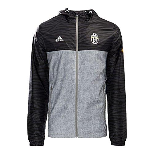 Adidas Juvewindbreaker Parka Juventus de Turin, Nero (Nero/Brgrin), 2XL