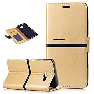 Kompatibel mit Galaxy A5 2016 Hülle,PU Lederhülle Flip Hülle im Bookstyle Ständer Wallet Soft Silikon Magnetverschluss…