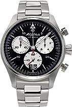 Alpina Geneve Startimer Pilot Herrenchronograph Fliegeruhr