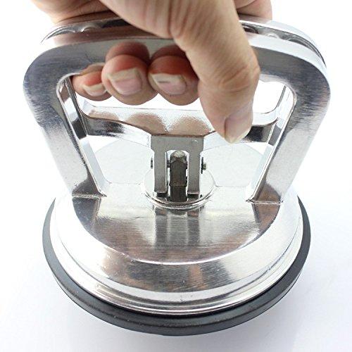 PDR ventosa in allumino, resistente strumento di sollevamento per il vetro, fino a 80,7 kg, per rimuovere ammaccature sull'auto senza riverniciare, per vetro/specchi/finestre