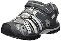 Geox J BOREALIS BOY C, Boys' Sandals, Grey (Grey/Whitec0579), 7 UK (41 EU)