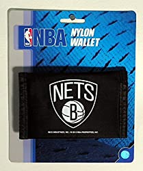 NBA Brooklyn Nets Nylon Trifold Wallet