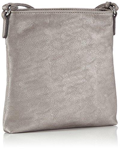 Gabor INA 7264 Damen Umhängetaschen 23x23x4 cm (B x H x T) Silber (altsilber 15)