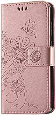 kazineer Case for Samsung Galaxy A51, Premium Leather Flip Wallet Cover with Card Slots Phone Case for Samsung