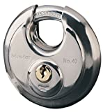 Master Lock 40EURD Lucchetto, Disco Inox, Diametro 70 mm