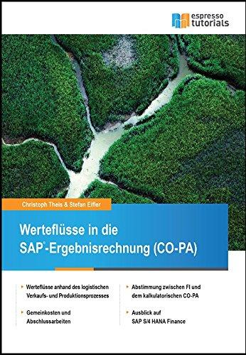 Werteflüsse in die SAP-Ergebnisrechnung (CO-PA)