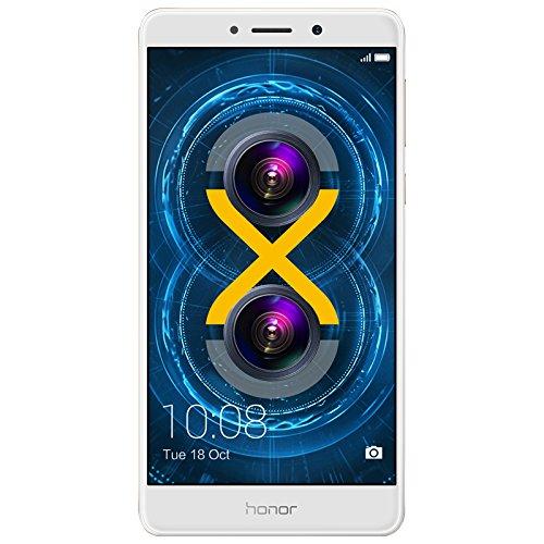 Honor 6X – Smartphone suelto de 5.5″ (maestro de huellas, 3 GB RAM, 32 GB ROM, EMUI 4.1 compa …
