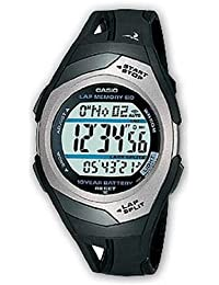 Casio Collection – Reloj Unisex Digital con Correa de Resina – STR-300C-1VER