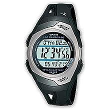 Casio Str-300C-1Ver: Reloj de corredor, unisex