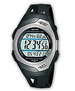 Casio Collection – Unisex-Armbanduhr mit Digital-Display und Resin-Armband – STR-300C-1VER