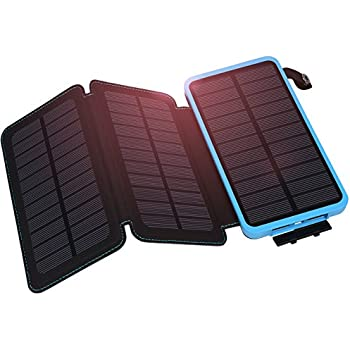 Solar Powerbank X-DRAGON 10000mAh Faltbar Outdoor Solar