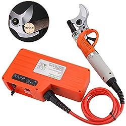 45mm électrique sécateur professionnel Scissor Rechargeable Arbre Branches Cutter Réglable Cisailles Électrique Outil De Coupe