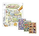 Ravensburger tiptoi  Mein großes Wimmelbuch + Gratis Kinder Sticker