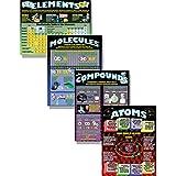 MCDONALD PUBLISHING mcp153Atome, Elemente, Moleküle und Verbindungen Poster (4Stück)