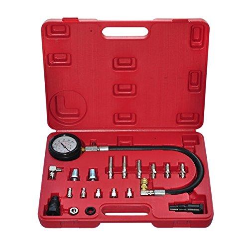 vidaXL 21000320Compression Tester Kit Für Diesel Motoren Test