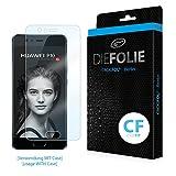 Crocfol Displayschutz für Huawei P10: 2x DIEFOLIE Schutzfolie, 1x DASFLÜSSIGGLAS flüssiges Glas – Casefit Folie, Verwendung mit Schutzhülle